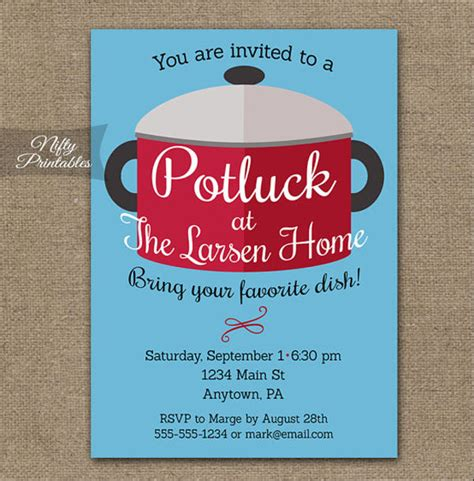 potluck email invitation template 10 potluck email invitation templates design templates