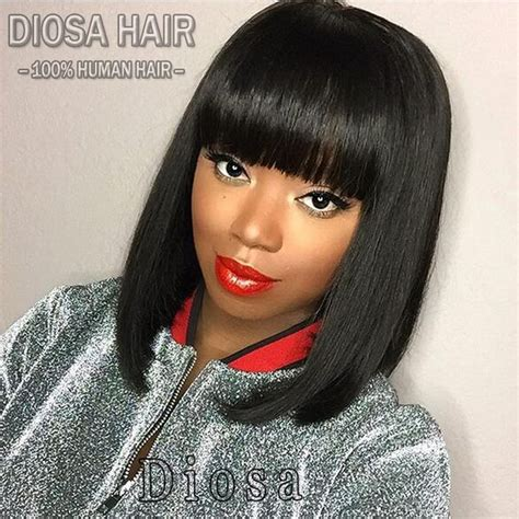 good human hair used in a bob 17 best images about bob wigs on pinterest u part black
