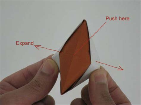 How To Make Fingers Out Of Paper - origami fox puppet origami animals folding