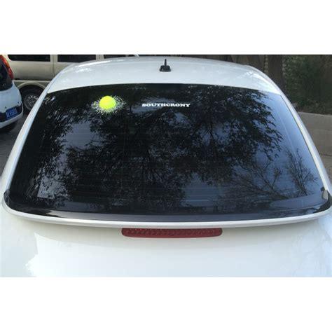 Stiker 3d Mobil Model Bola Tenis Putih stiker 3d mobil model bola tenis white jakartanotebook