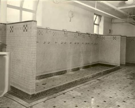 gym bathroom school gym communal showers childhood memories
