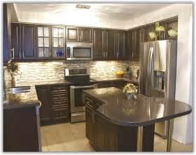 grey kitchen cabinets black countertop home design ideas
