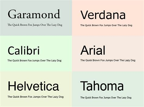 Fonts To Use For Resume by What Fonts Should You Use For Your Resume