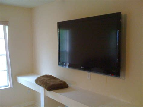 built in wall shelves with tv removing built in drywall shelves to wall mount tv