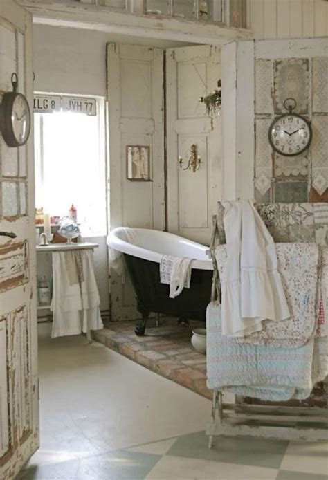 rustic chic bathroom ideas 18 bathrooms for shabby chic design inspiration