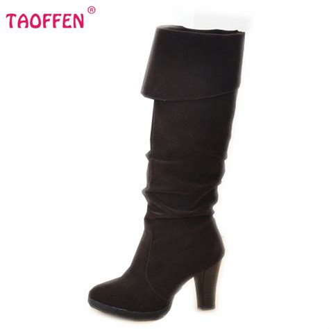 aliexpress buy high heel knee boots