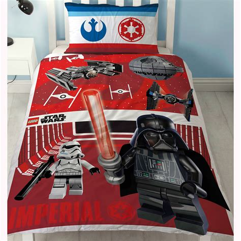 lego star wars bedding lego star wars reversible duvet cover bedding set new ebay
