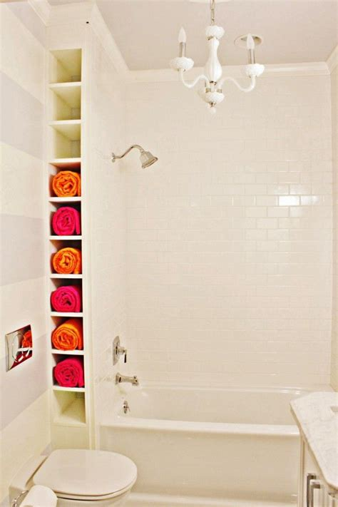 bathroom towel storage shelves 10 ways to creatively add storage to your bathroom