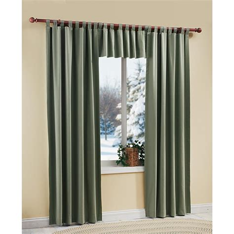 Microsuede Insulated Curtains 109998 Curtains At
