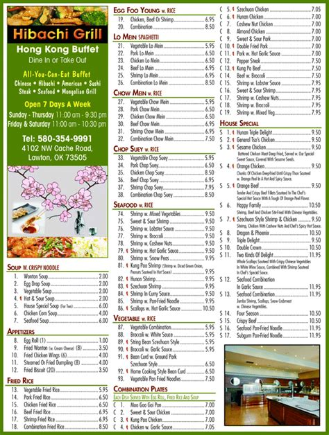 hong kong buffet menu yellowbook the local yellow pages directory