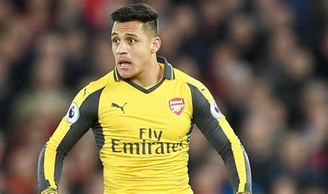 alexis sanchez rift ian wright makes bold claim over alexis sanchez s bust up