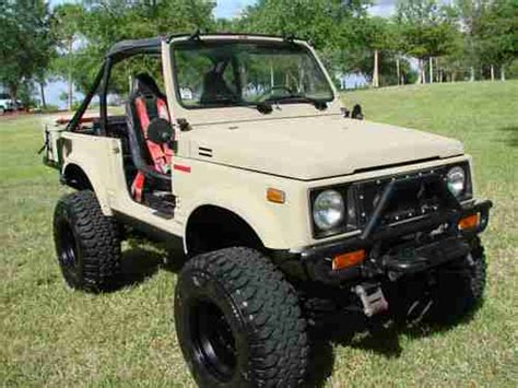 Suzuki Samurai Build Buy Used Fully Built Suzuki Samurai 1 6 Tracker Motor Rust