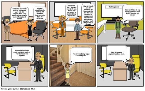 how a bank works bank work storyboard by mvni