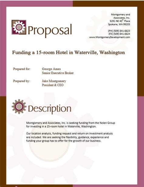 9 Free Sle Real Estate Proposal Templates Printable Sles Rfp Template Commercial Real Estate
