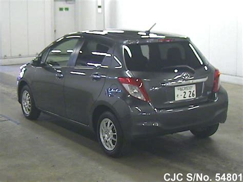 used 2012 toyota yaris for sale 2012 toyota vitz yaris gray for sale stock no 54801