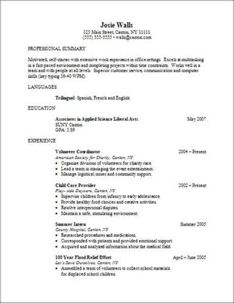 Superior What Is An Associates In Arts Degree #1: Caregiver-resume-example_1269687.jpg