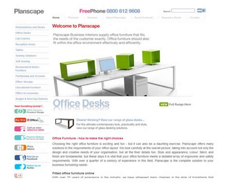 Top 5 Furniture Companies by Planscape Office Supplies News Stationery Find