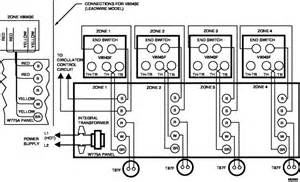 wiring typical 4 zone system