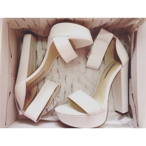 river island white chunky platform barely there sandals