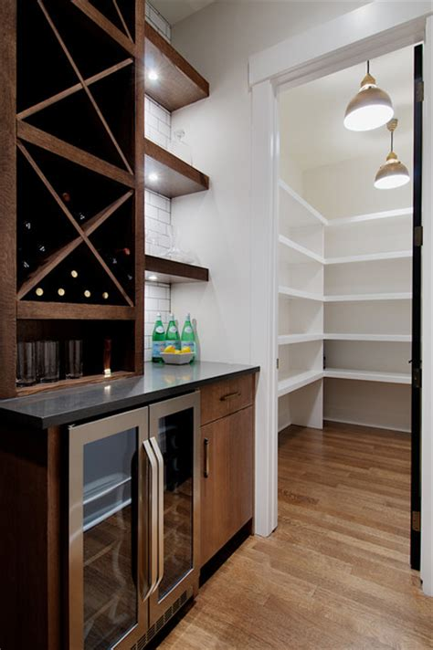butlers pantry  large walk  pantry contemporary