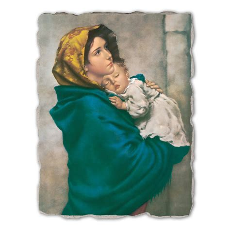 Madona Big Size madonna of the streets by ferruzzi painted fresco
