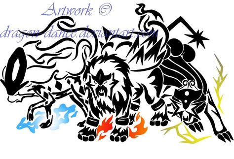 tribal pokemon tattoos 27 legendary designs