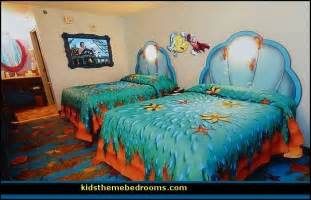 Little Mermaid Bedroom Decor Decorating Theme Bedrooms Maries Manor Little Mermaid