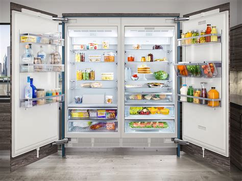 refrigerator trends 2017 these beautiful new refrigerators from thermador are sleek