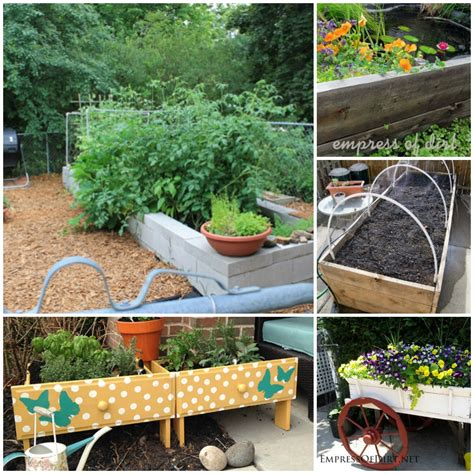 Raised Bed Garden Ideas Easy Raised Garden Bed Ideas 18 Easy To Make Diy Raised Garden Beds 141 Best Images About