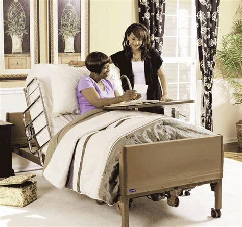 Invacare Hospital Beds Invacare Full Electric Hospital Bed Ivc 5410 Home Care Bed