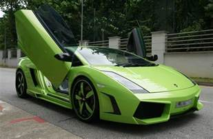 hd car wallpapers lamborghini gallardo green
