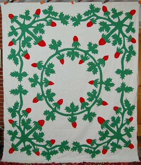 Antique Applique Quilt Patterns by Amazing Vintage 40 S Hawaiian Green Antique Quilt