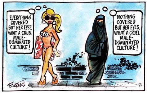 we have enough muhammad cartoons why not some burqa cartoons gender studies on pinterest rosie the riveter human