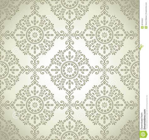 traditional pattern photography seamless traditional vector wallpaper stock vector