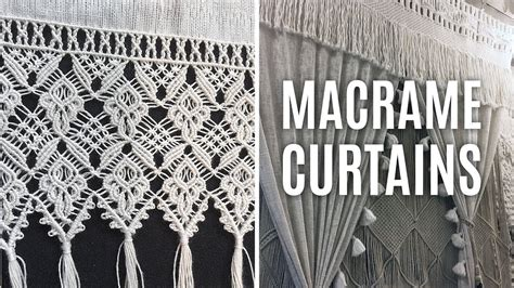 Hemp Curtain Panels From Doc by Macrame Curtains