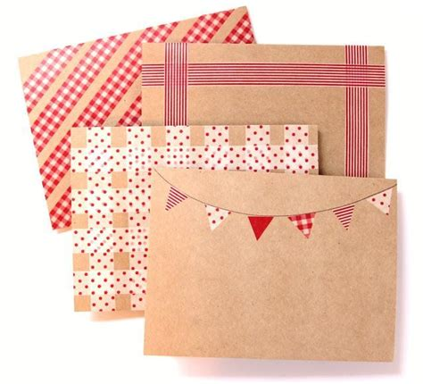 washi tape ideas 20 creative washi tape ideas washi washi tape and envelopes