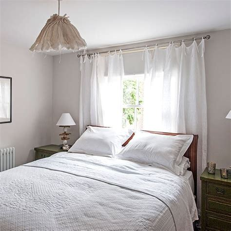 Curtains For White Bedroom Decor White Bedroom With Sheer Curtains Decorating Housetohome Co Uk