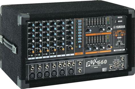 Power Mixer Yamaha Emx yamaha emx660 image 833426 audiofanzine