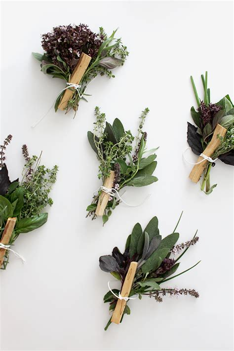 Wedding Bouquet Herbs by Diy Fresh Herb Bouquets Almost Makes