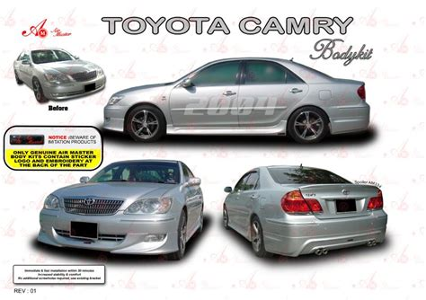 Bodykit Mobil Toyota Camry camry 2004