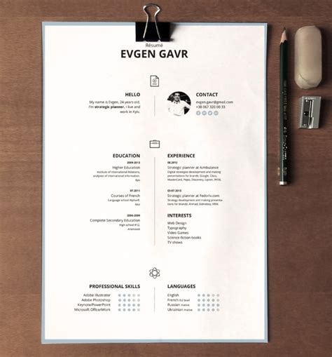 Eye Catching Resume Templates by 15 Eye Catching Resume Templates That Will Get You Noticed