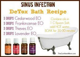 Detoxing Sinus by Detox Bath For Sinuses For Your Health