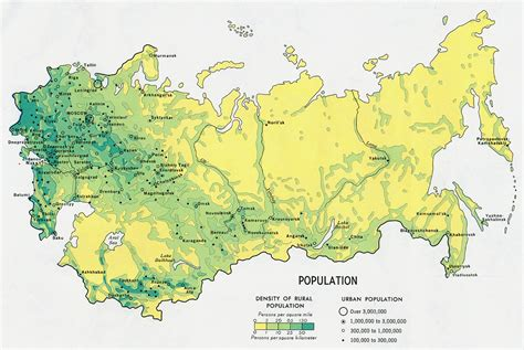 russia density map nationmaster maps of soviet union 36 in total