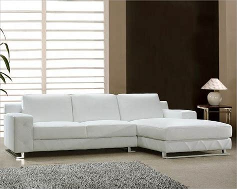 White Leather Sectional Sofa Set 44l0680 Leather Sectional Sofa Set