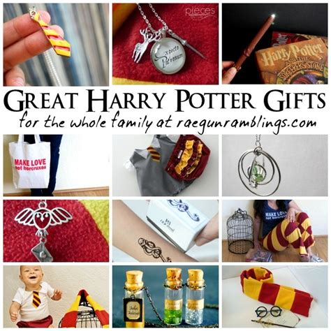 gifts for the family harry potter gifts for the whole family rae gun ramblings