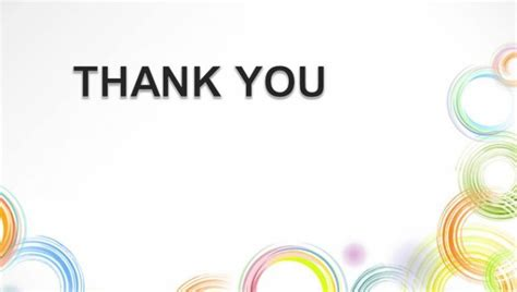 thank you templates for ppt free thank you template for ppt circle illustration powerpoint