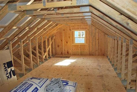Garage Attic Trusses by Onsite Garages Pennsylvania Maryland And West Virginia