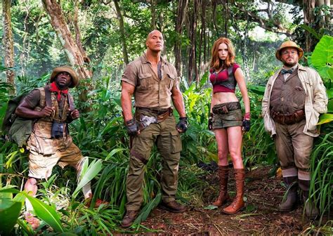 jumanji movie hd jumanji karen gillian risponde alle critiche di sessismo