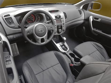 2010 Kia Forte Interior 2010 Kia Forte Koup Price Photos Reviews Features