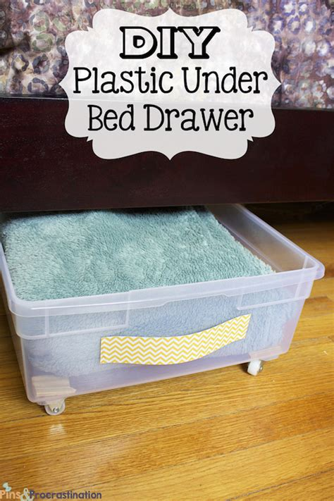 simple under bed storage budget ideas for childrens 29 sneaky diy small space storage and organization ideas